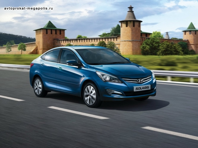 Hyundai Solaris sedan 1.6 AT
